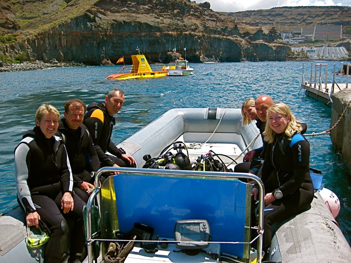 Canary Diving Scuba Day Sessions