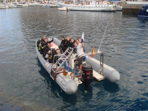 Canary Diving Adventures Boat