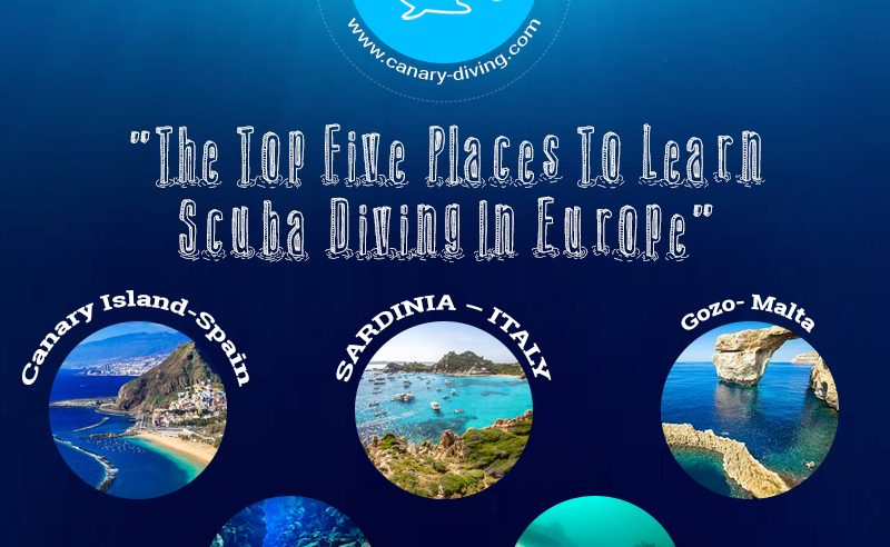 The Top Five Places To Learn Scuba Diving In Europe