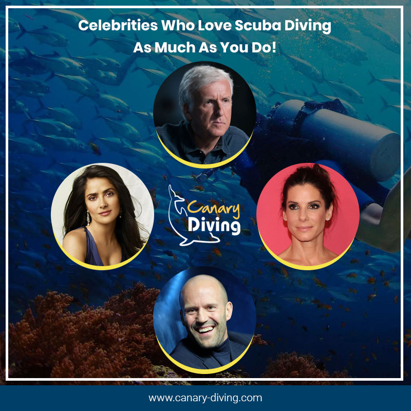 Celebrities Who Love Scuba Diving